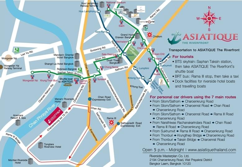 Jak dojechać do Asiatique.