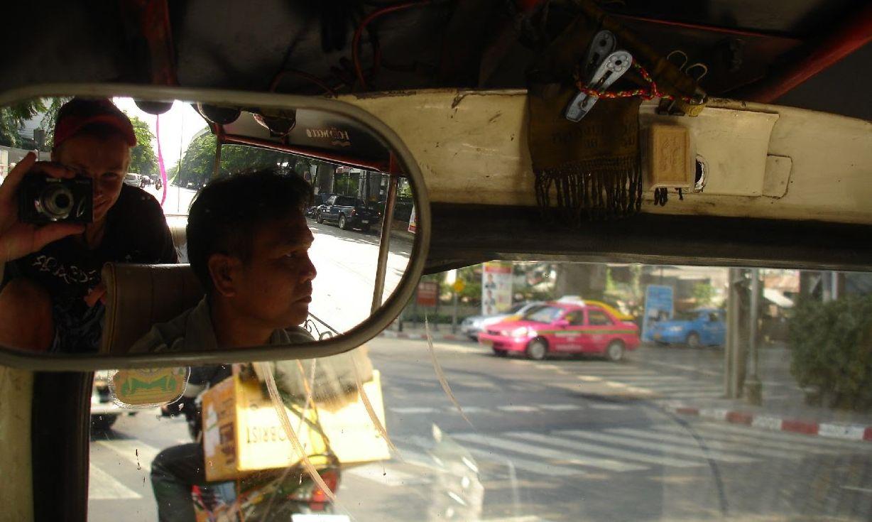 Bangkok 2007, wyruszamy z Somchaiem na objazd po Bangoku.