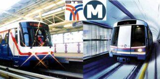 Metro MRT w Bangkoku.