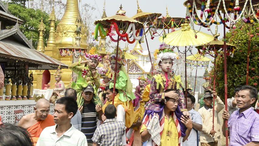 Ceremonia w Chiang Mai