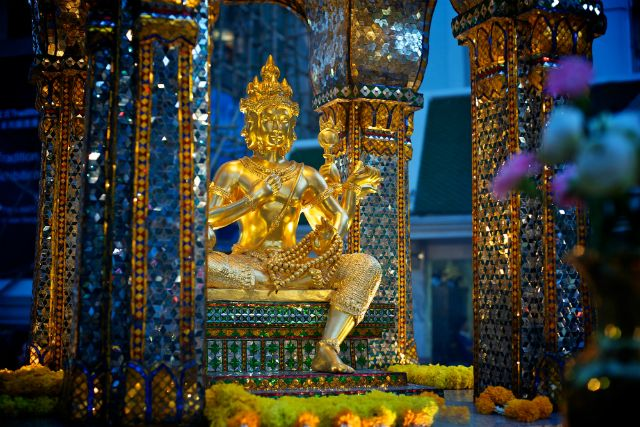 Wizerunek czterogłowego Brahmy, Than Tao Mahaprom
