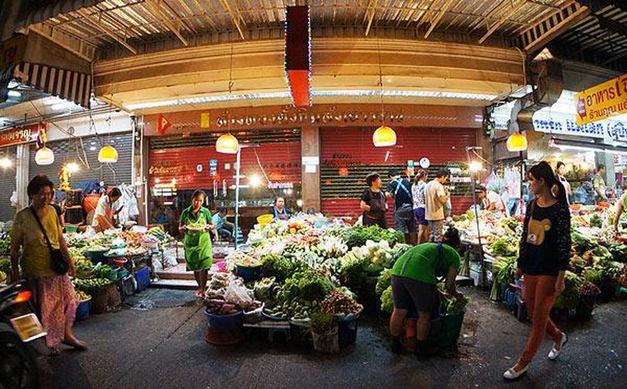 Huai Kwang Market.