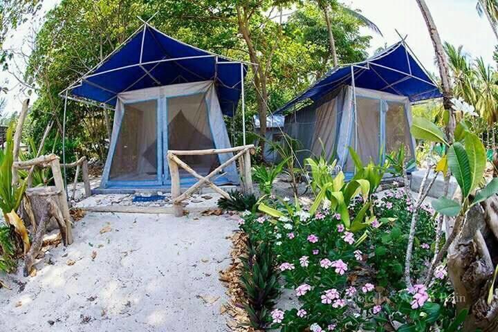 Sea Camp, wsypa Koh Ngai, Krabi.
