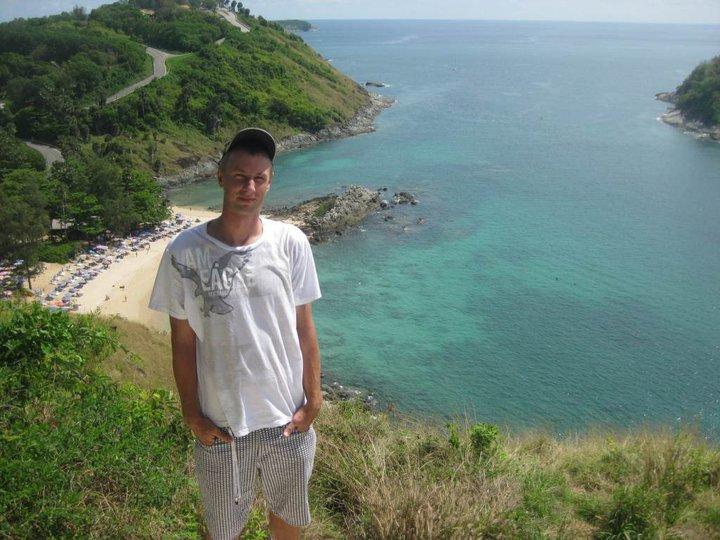 Widok na Yanui Beach na Phuket