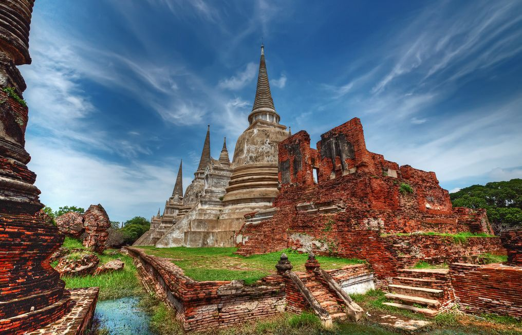 Świątynia Wat Phra Sisanphet w Ayutthaya