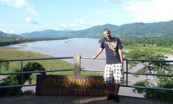 Złoty Trójkąt w Chiang Rai, pogranicze 3 państw