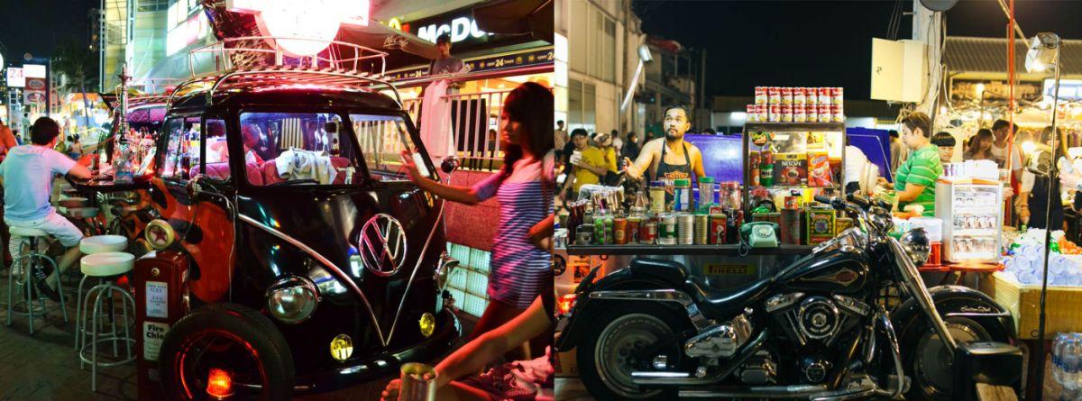 Nocny Retro Market na Rachada