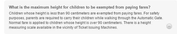 Polityka cenowa dla dzieci BTS w Bangkoku