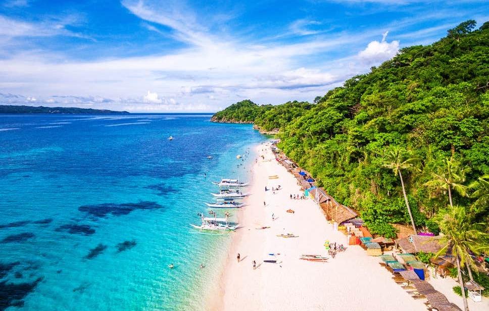 Boracay, Filipiny.