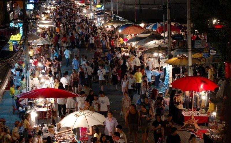 Chatuchak Market.