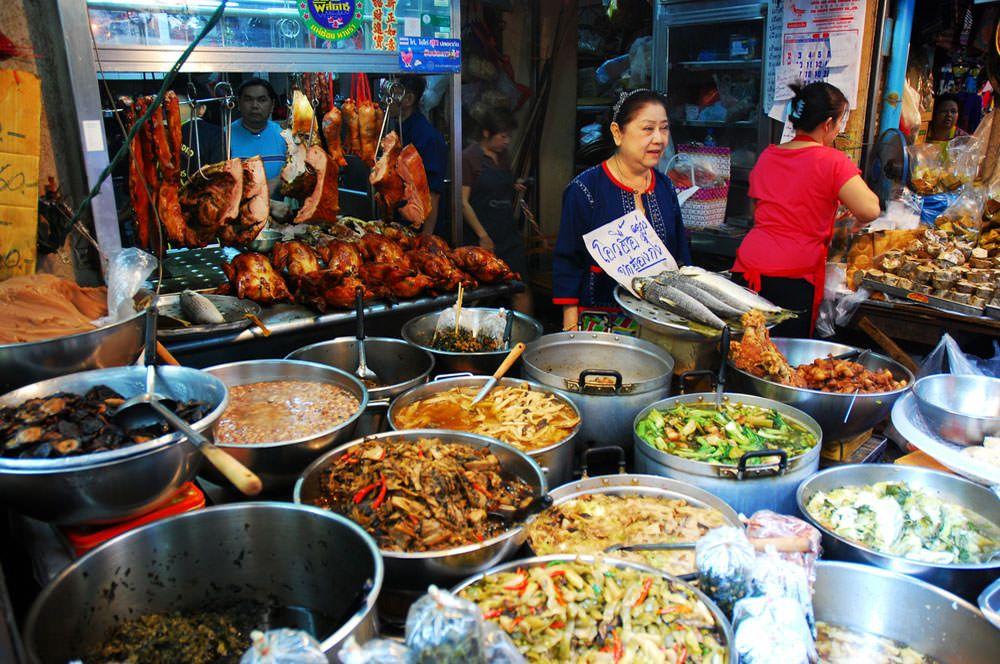Lokalne jedzenie w China Town