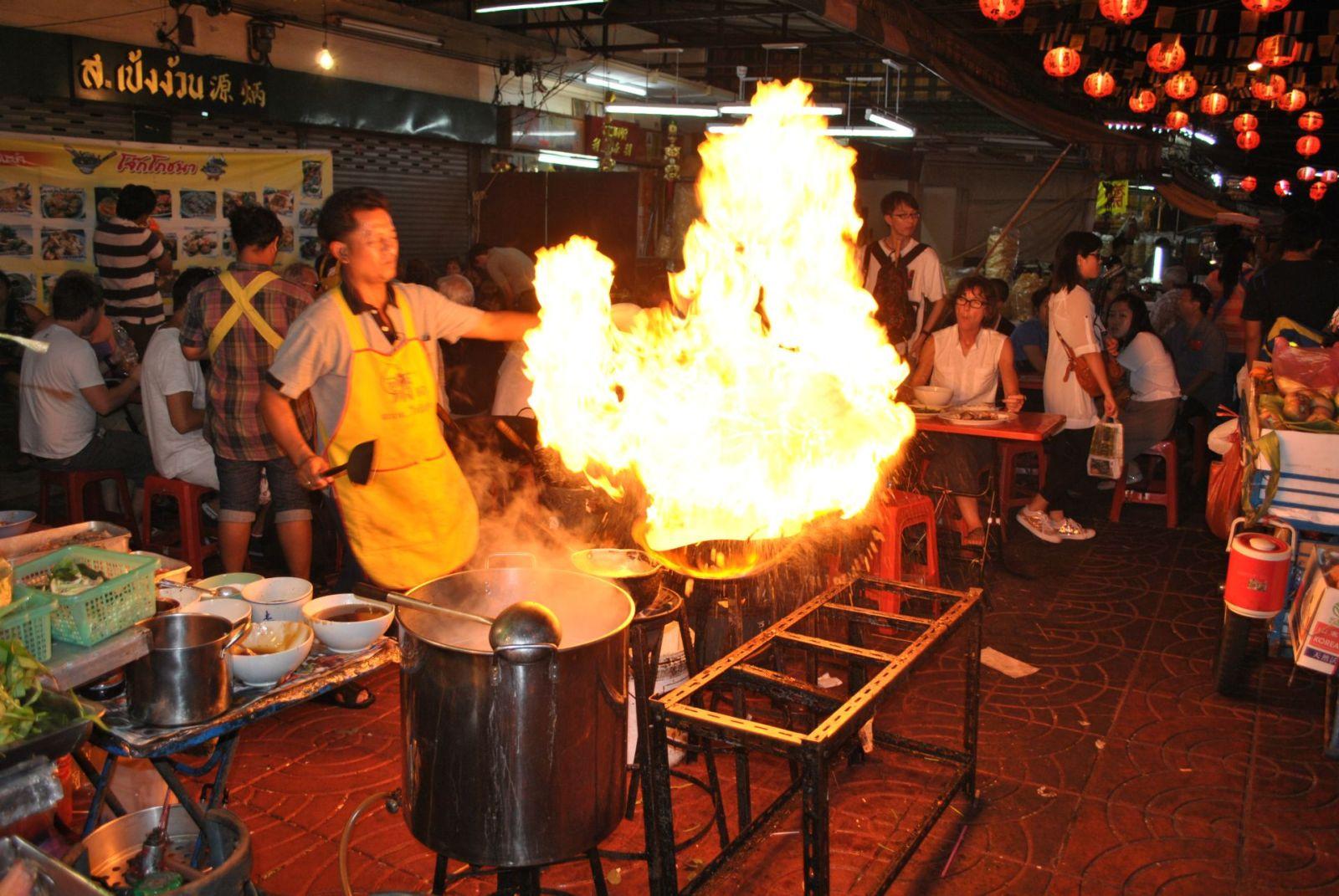 China Town Bangkok kuchnia