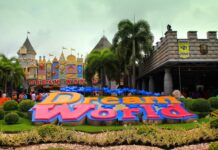 Wejście do Dream World Bangkok