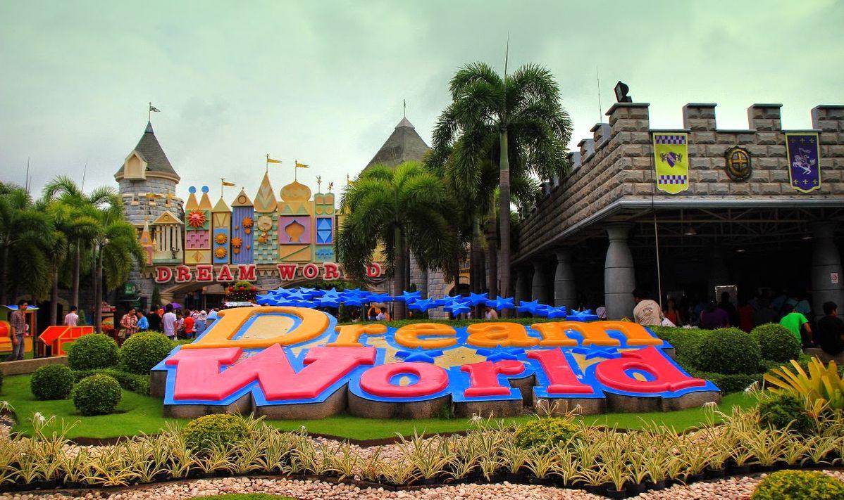 Wejście do Dream World Bangkok