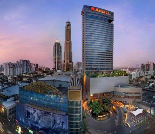 Dzielnica Pratunam w Bangkoku.