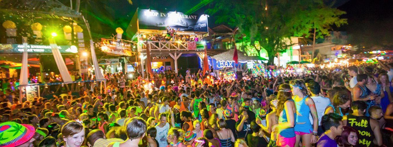 Full Mon Party na Koh Phangan przyciąga tłumy imprezowiczów, ale to tylko mała cześć wyspy.