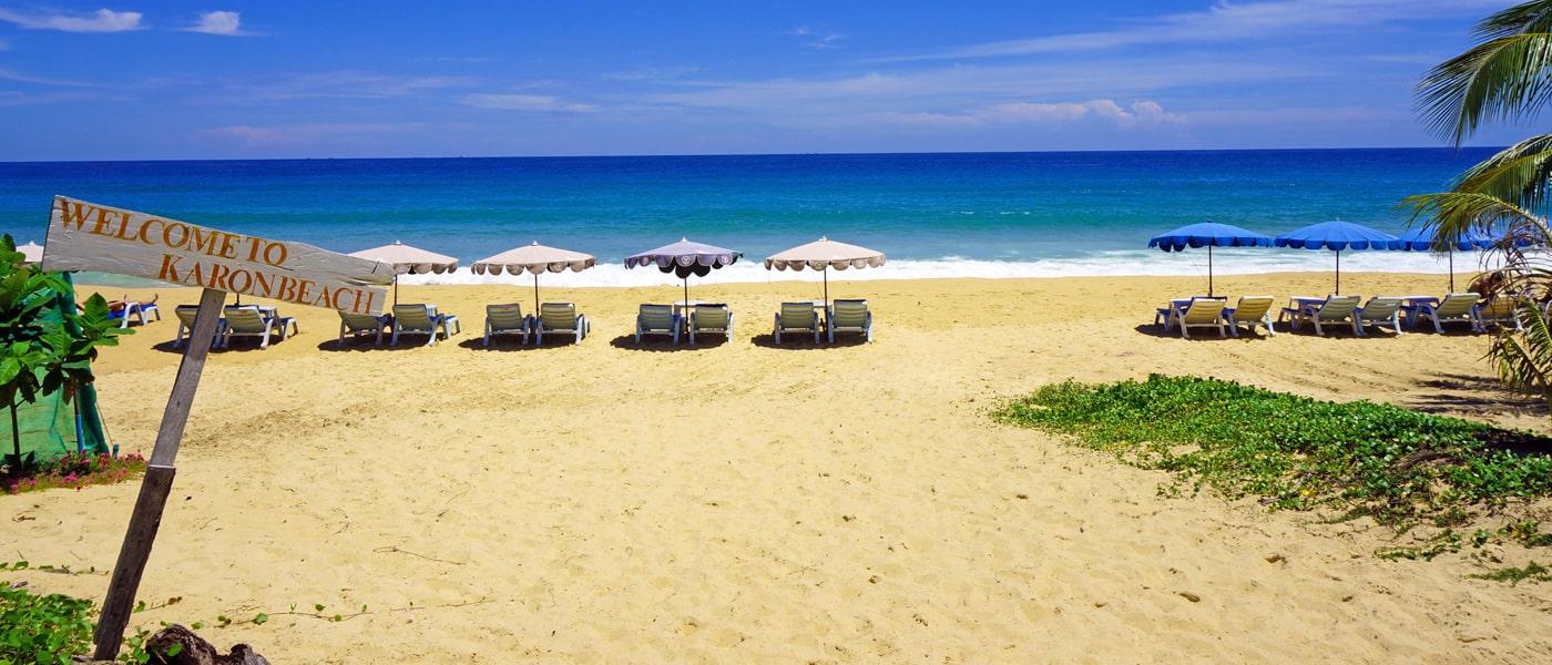 Plaża Karon, Phuket.