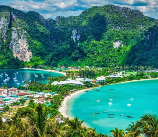 Wyspa Koh Phi Phi Don, Krabi.