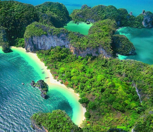 Wyspa Koh Hong.