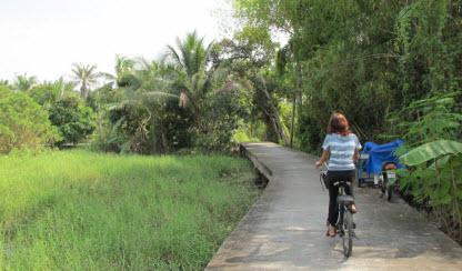 Koh Kret wycieczka rowerowa