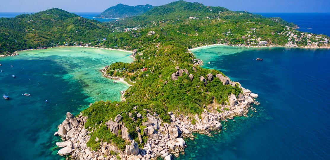 Wyspa Koh Tao.