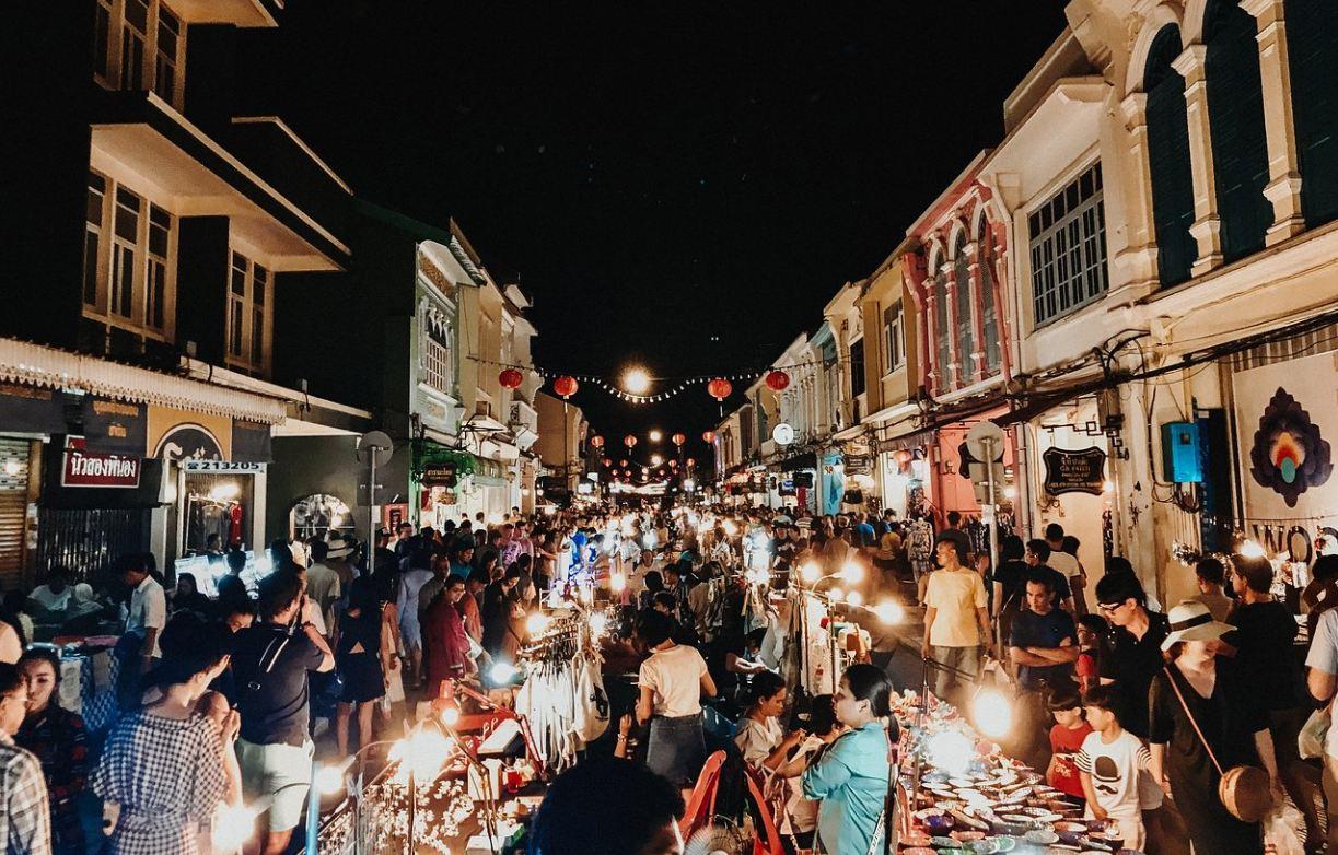 Lard Yai Market, Phuket Town.