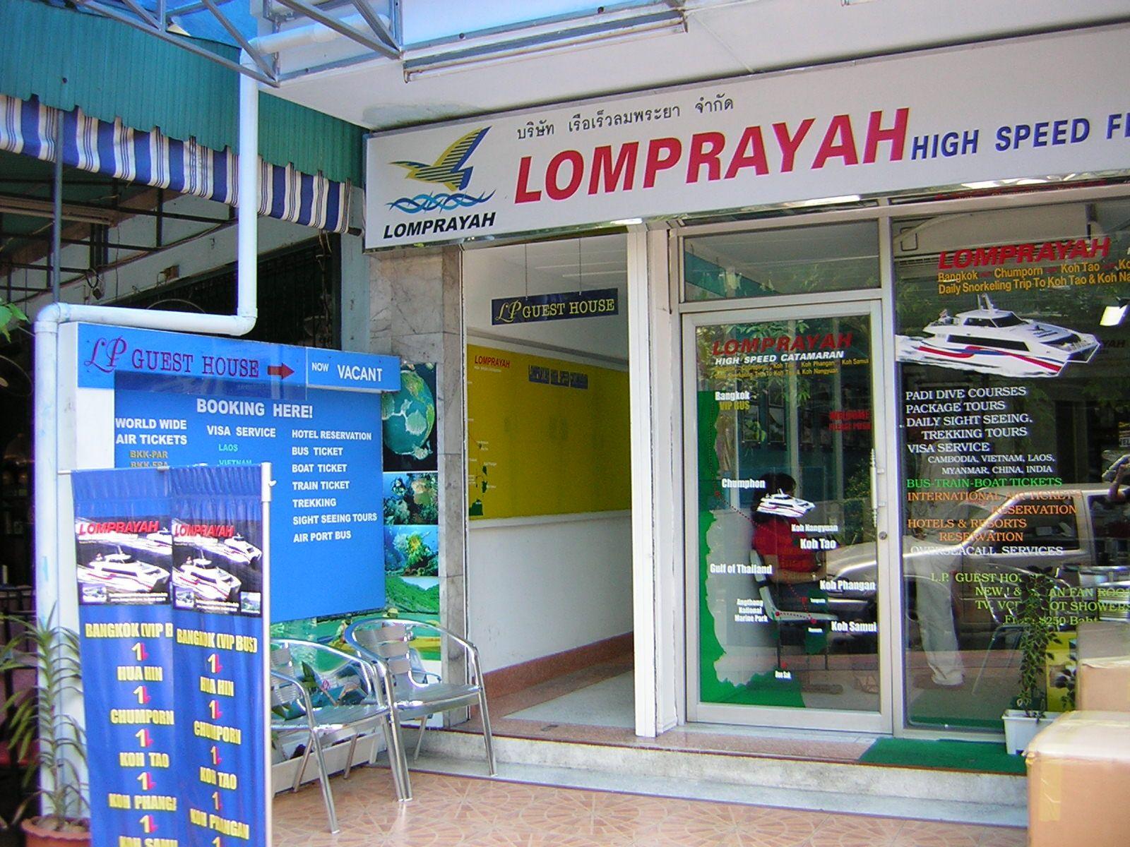 Biuro Lomprayah w Bangkoku