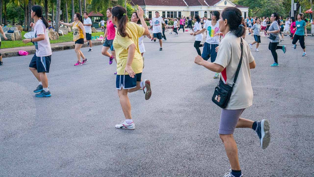 Lumpini Park tańce