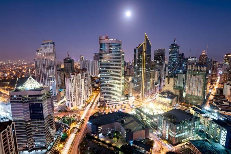 Makati, Ayala Avenue, Manila.