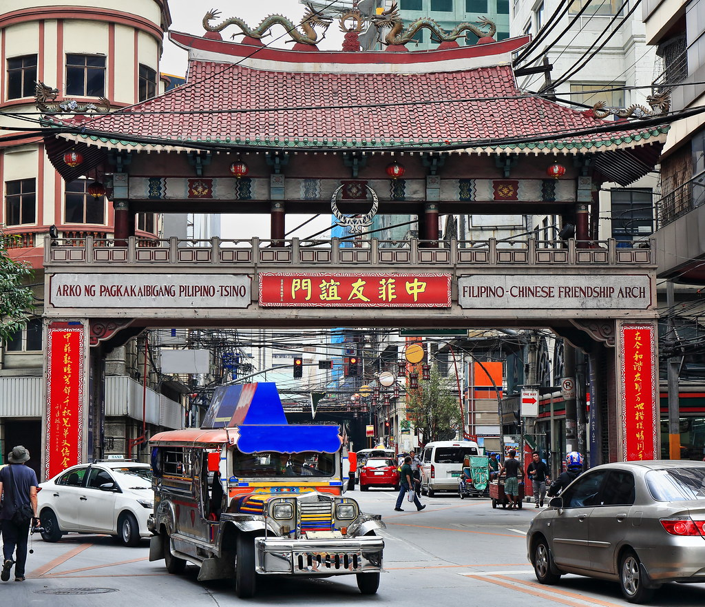 Dzielnica Chińska, Manila.