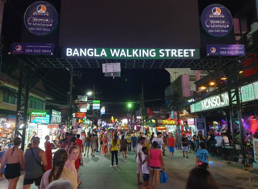 Bangla Walking Street, Patong, Phuket.