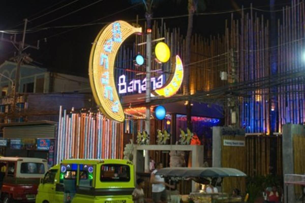 Banana Bar, Patong, Phuket.