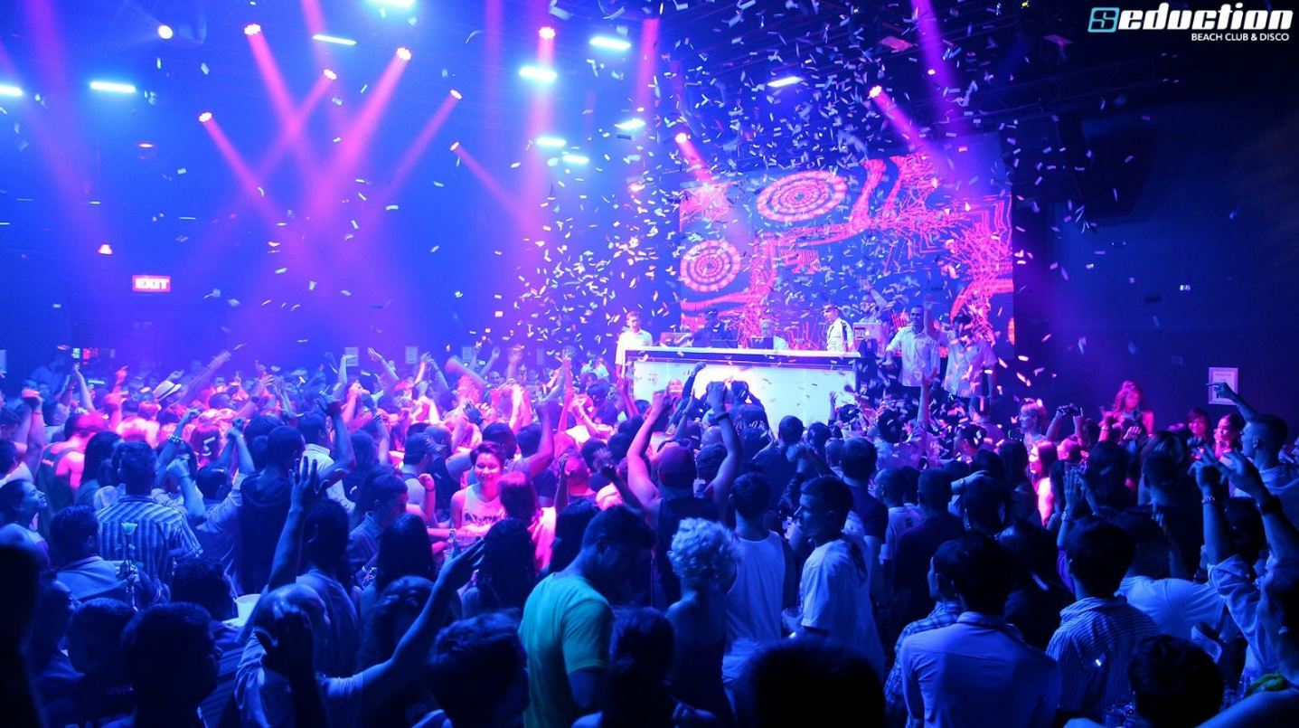 Seduction Beach Club, Patong Phuket.