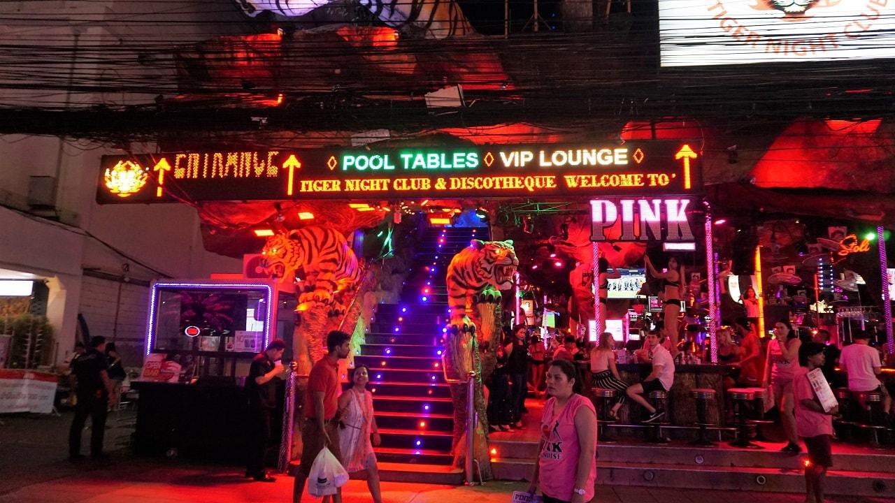 Tiger Disco, Patong, Phuket.