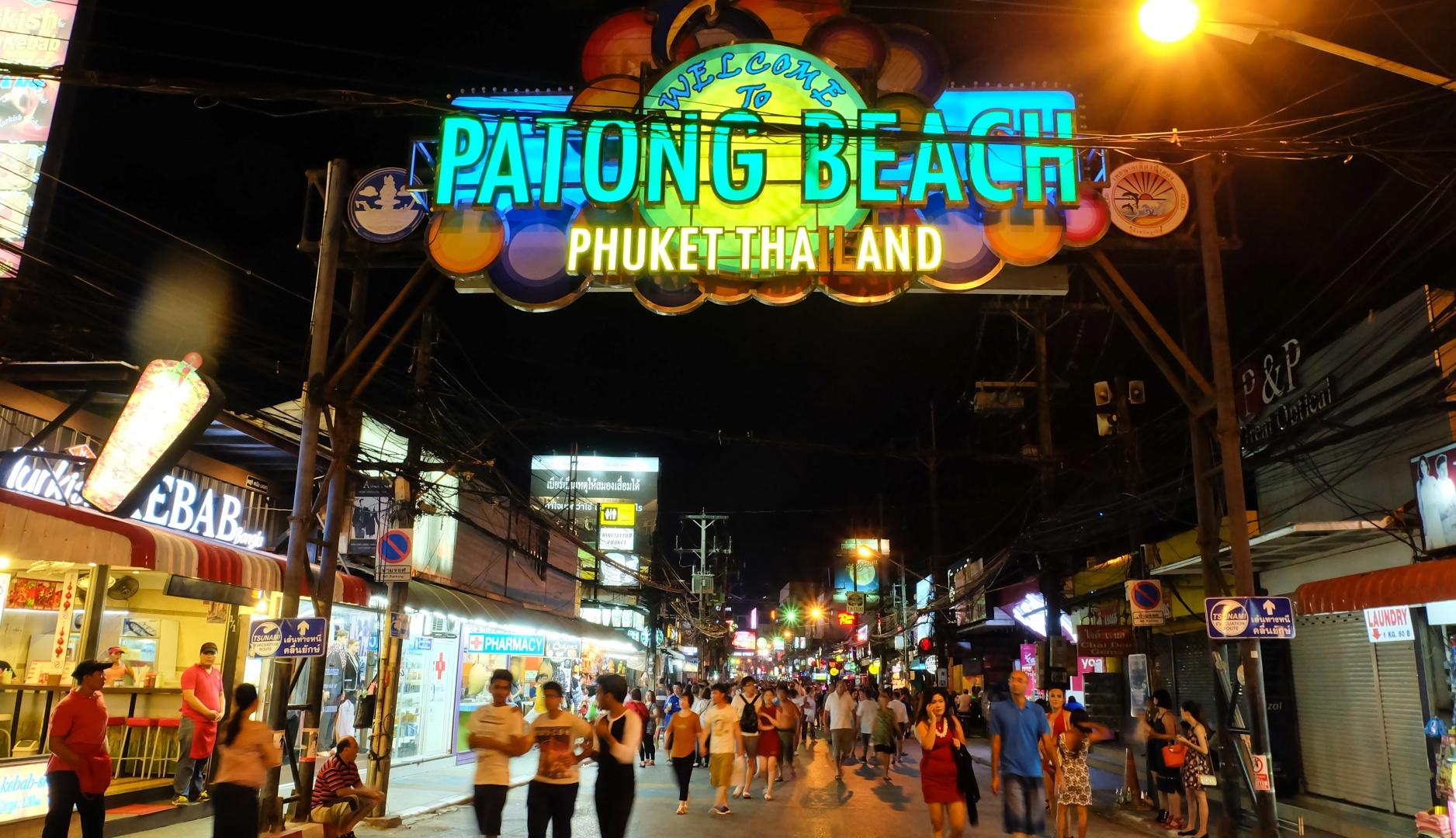 Patong, Bangla, Phuket.