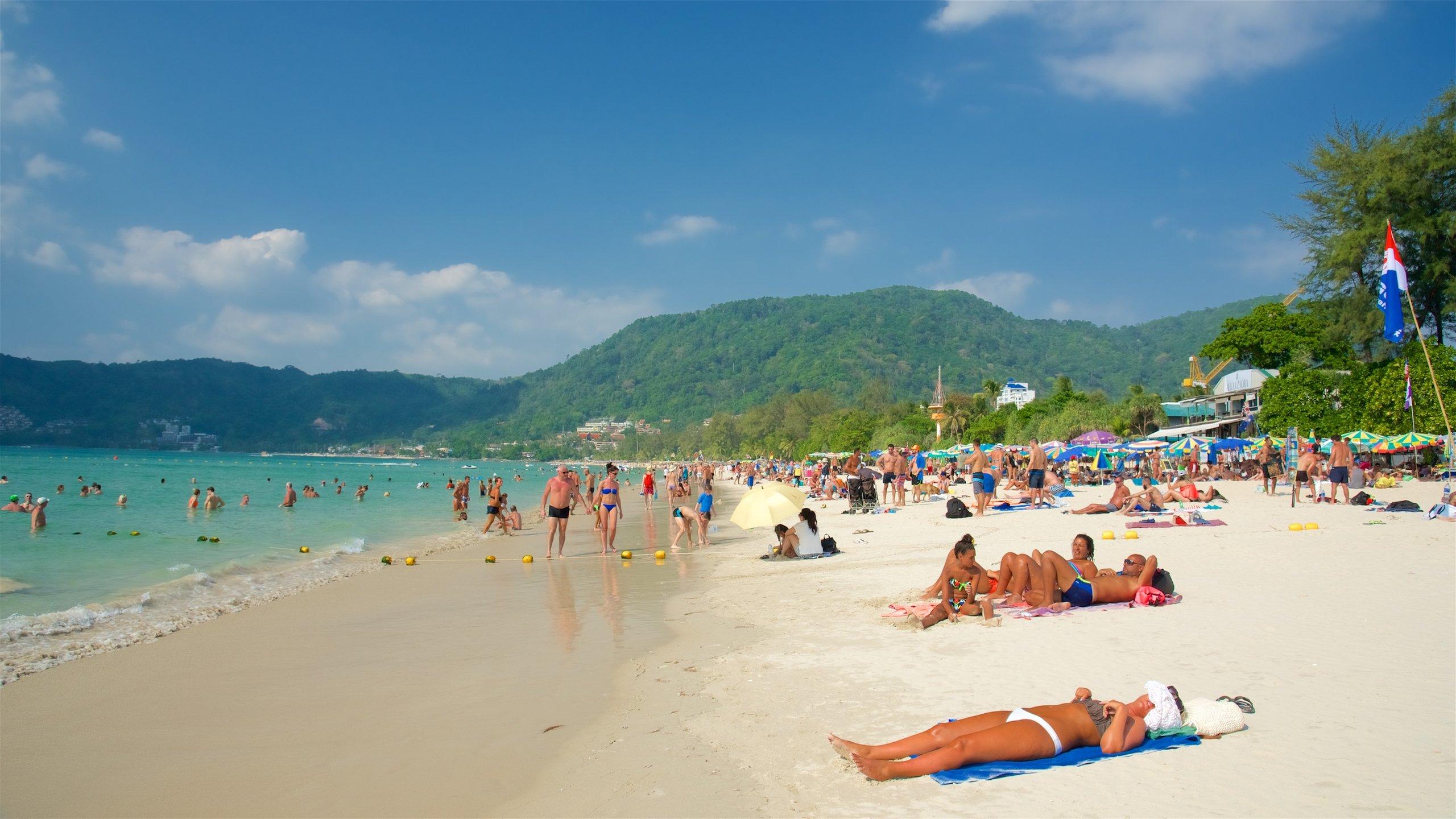 Plaża Patong, Phuket.