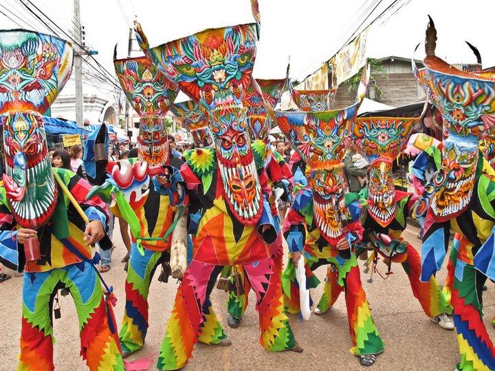Phi Ta Koh festiwal w Loei.
