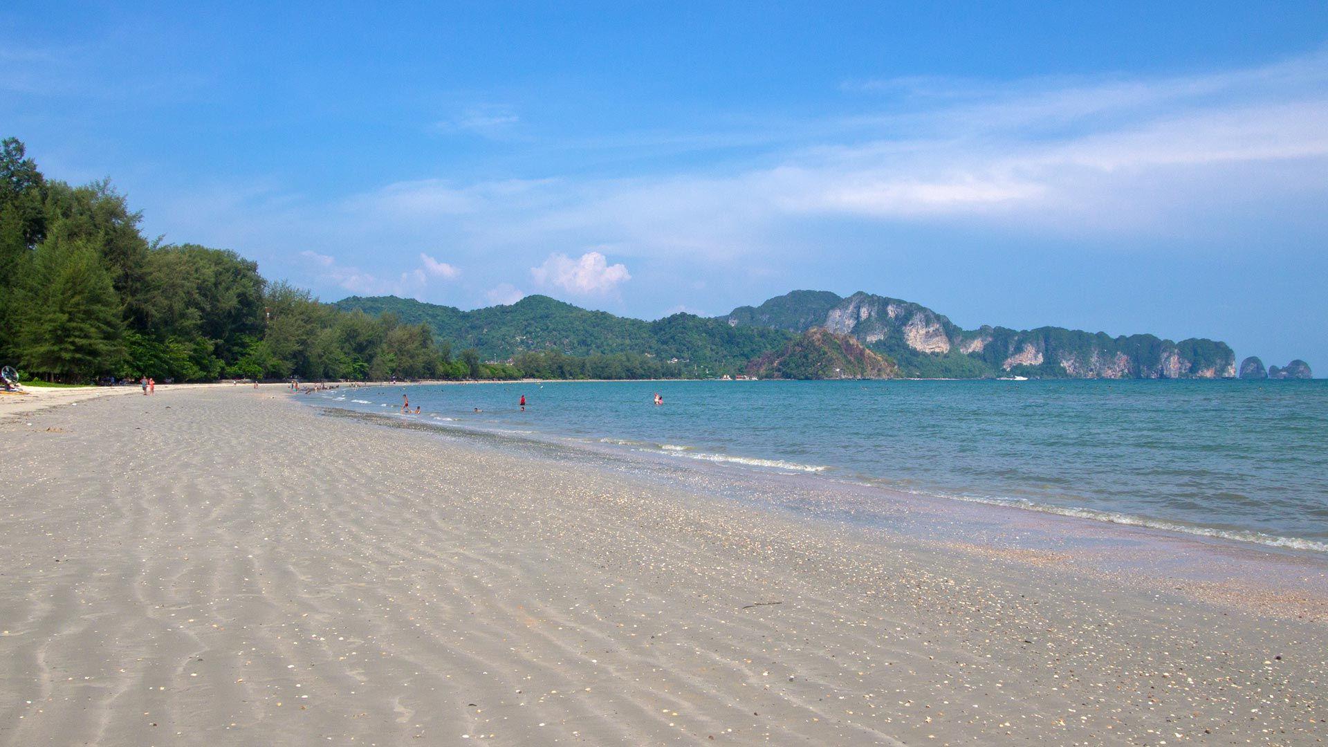 Plaża Nopparat Thara, Krabi.