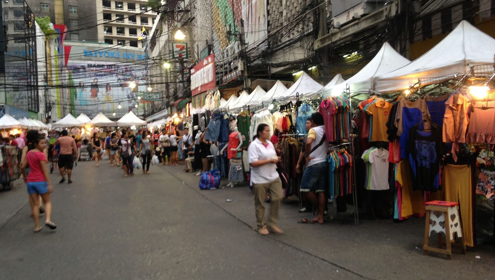 Pratunam Market.
