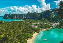 Punkt widokowy na Plażę Railay, Krabi.