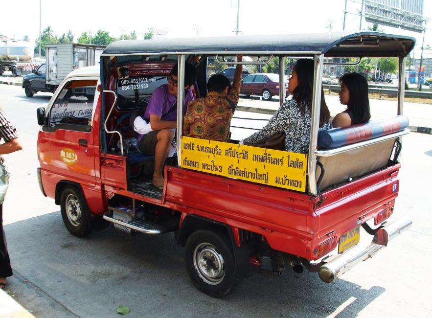 Malutkie Soi Busy, kursują wewnątrz Soiów w Bangkoku.