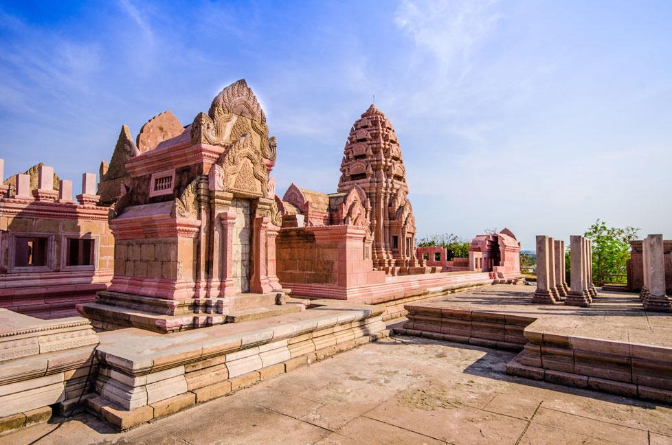 Replika świątyni Preah Vihran