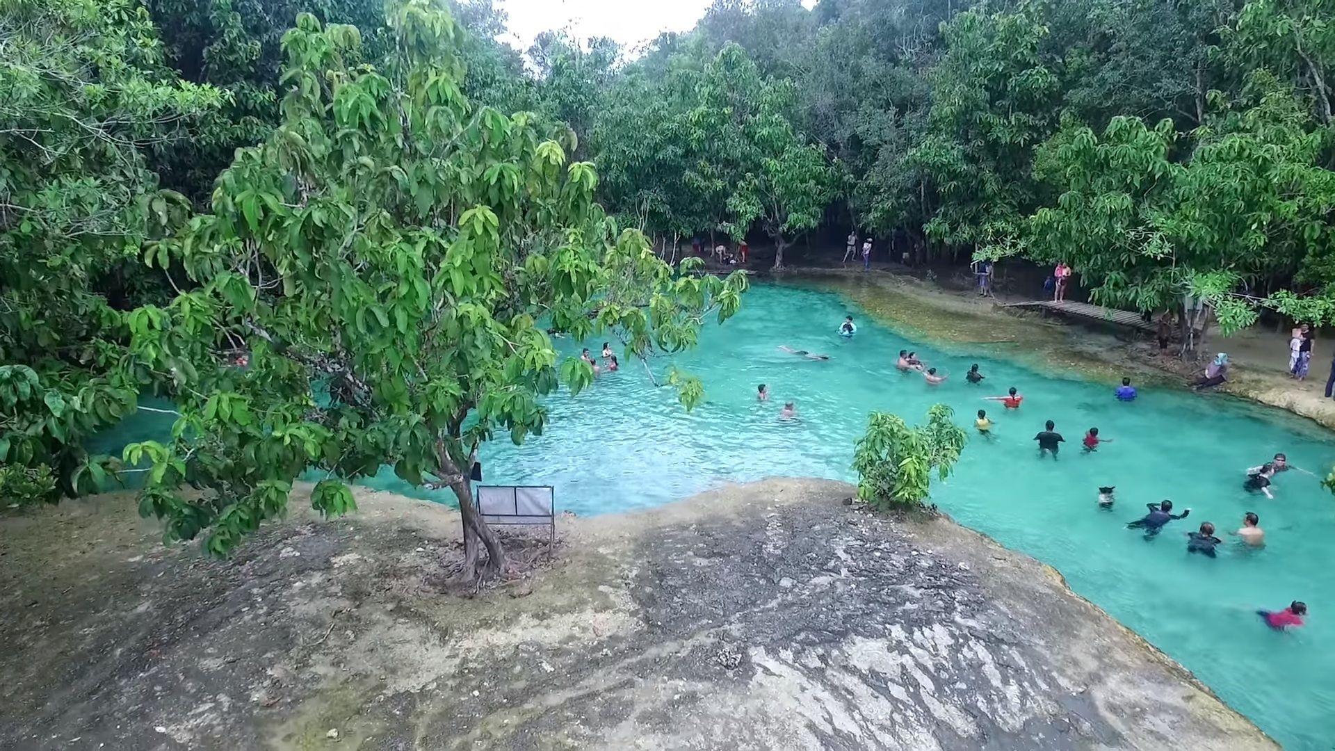 Szmaragdowy basen, Sa Morakot, Krabi.