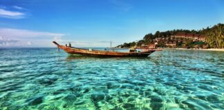 Wyspa Koh Phangan, Tajlandia.