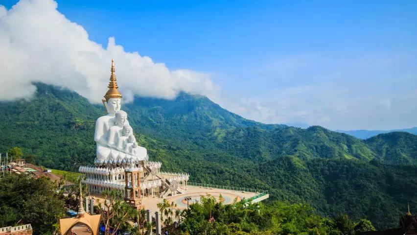 Wat Phra That Pha Son Kaew w prowincji Petchabun.