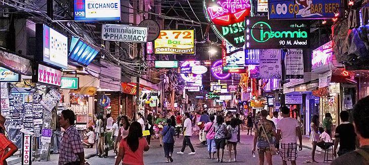 Walking Street w Pattaya