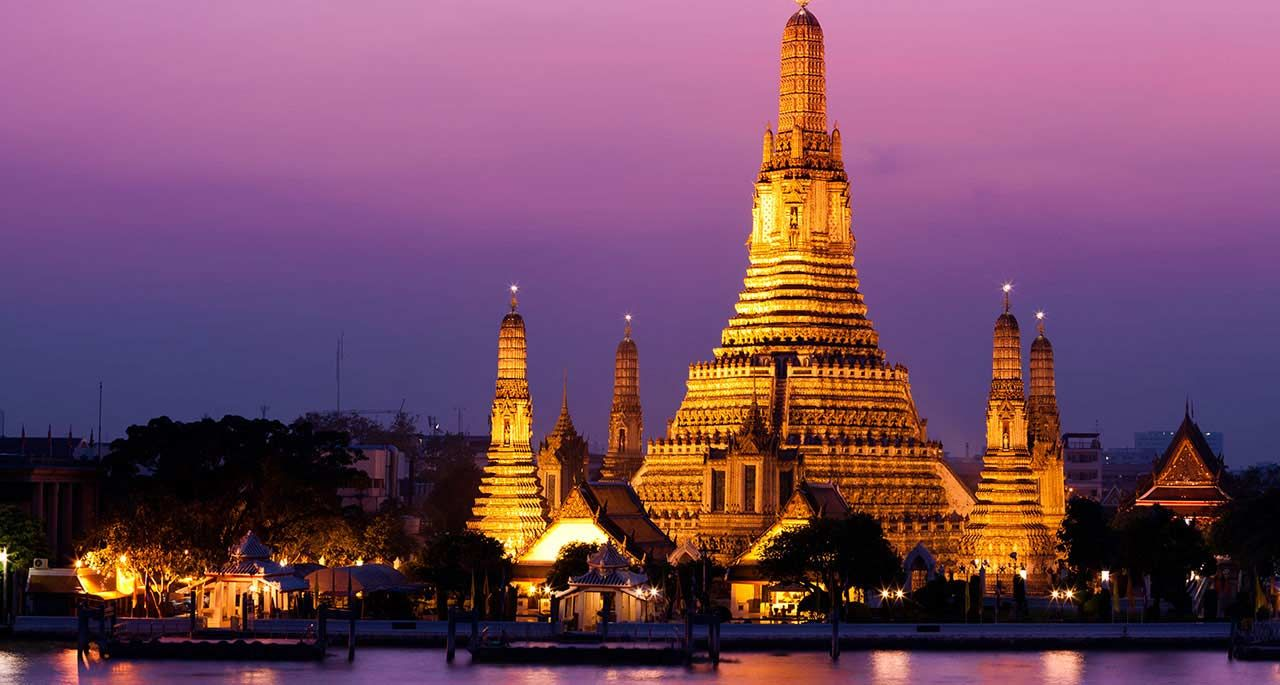 Wat Arun Świątynia Świtu Bangkok