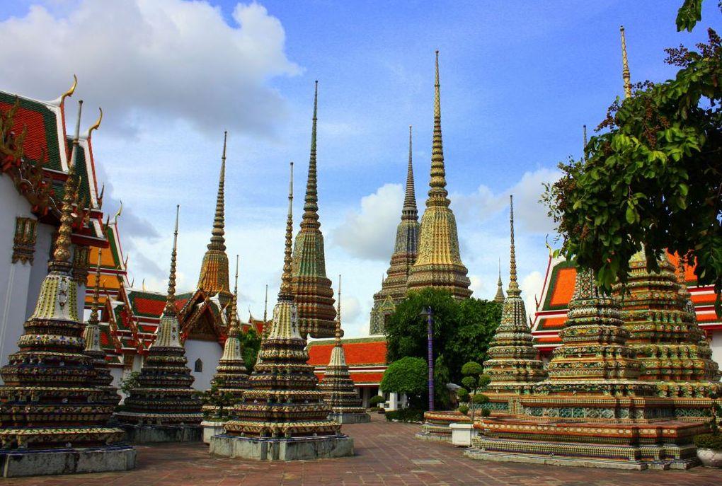 Chedi Wat Pho Bangkok