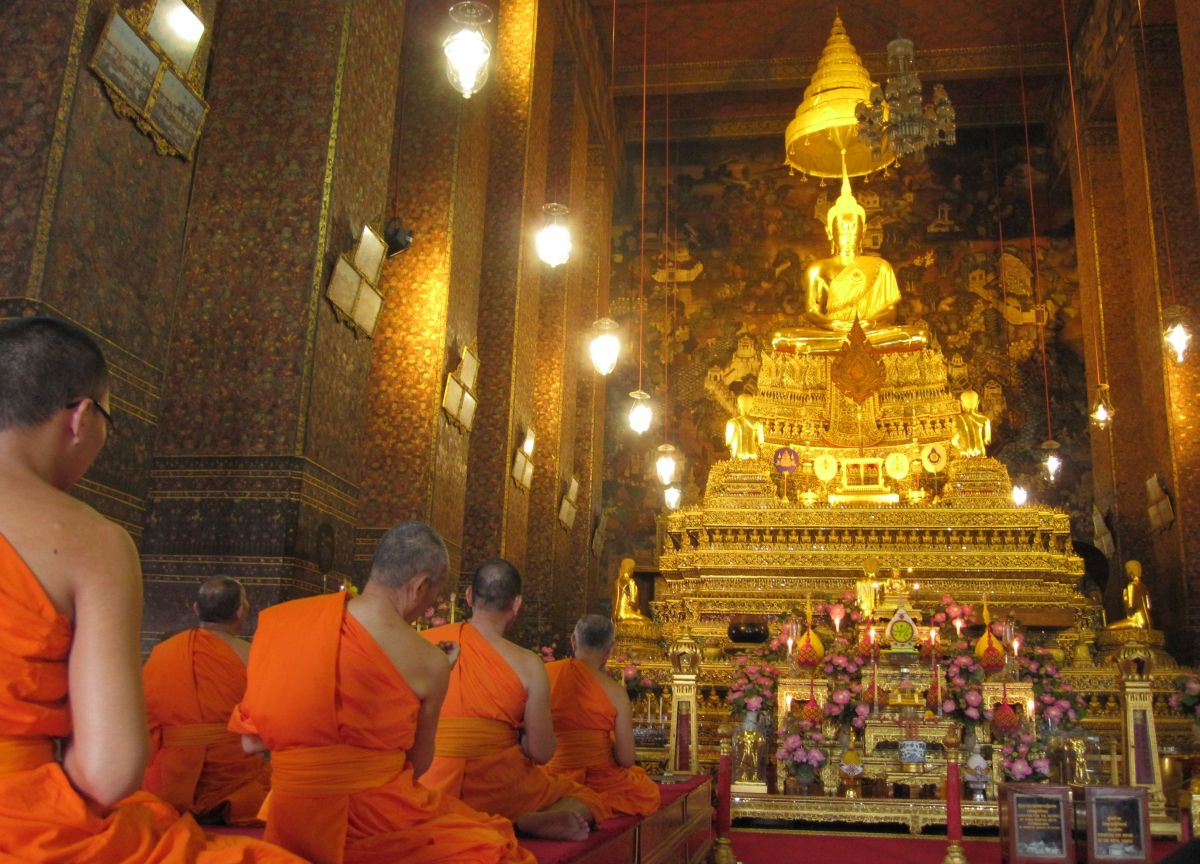 Wat Pho bot