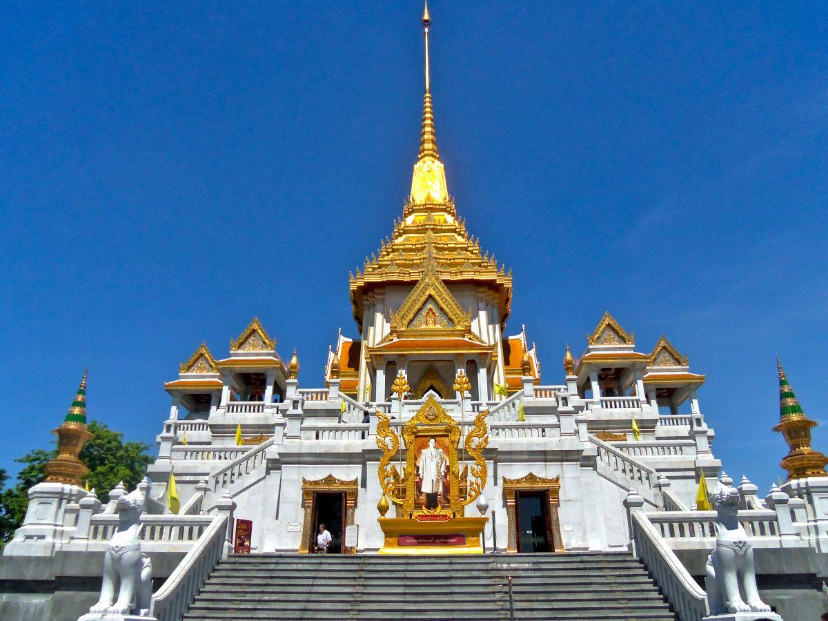 Świątynia Złotego Buddy Bangkoku - Wat Traimit